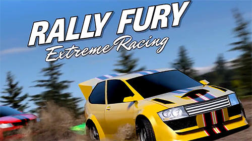 Rally fury: Extreme racing poster
