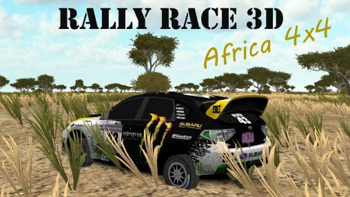 Rally race 3D: Africa 4x4 poster