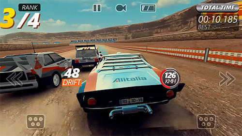 Screenshots do Rally racer evo - Perigoso para tablet e celular Android.