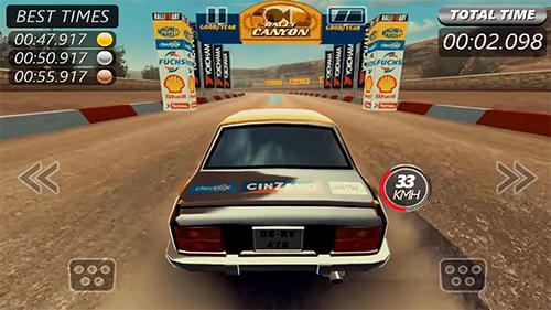 Screenshots von Rally racer evo für Android-Tablet, Smartphone.