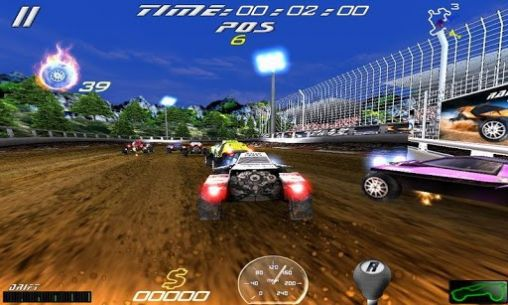 Kostenloses Android-Game Rally Cross: Ultimative Version. Vollversion der Android-apk-App Hirschjäger: Die Rally cross: Ultimate für Tablets und Telefone.