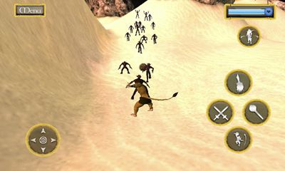 Screenshots of the Ramayan Wars The Ocean Leap for Android tablet, phone.