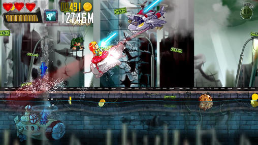 Screenshots von Ramboat: Hero shooting game für Android-Tablet, Smartphone.
