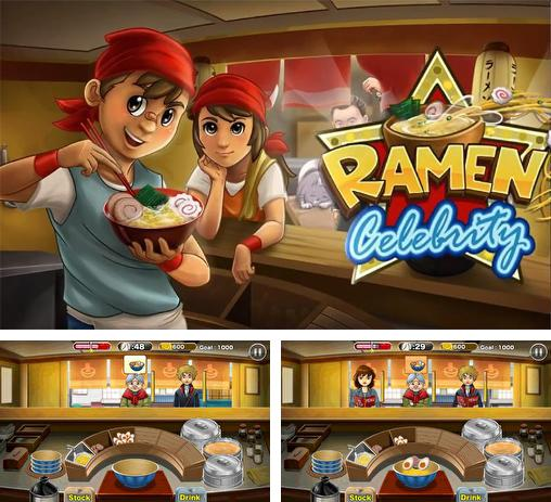 In addition to the game Streetfood Tycoon World Tour for Android phones and tablets, you can also download Ramen celebrity for free.
