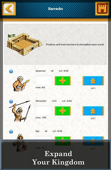 Ramses: Strategy game скриншот 2