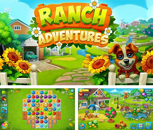 Ranch adventures: Amazing match 3