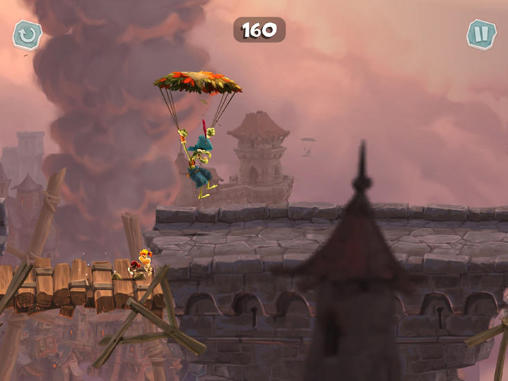Screenshots von Rayman adventures für Android-Tablet, Smartphone.