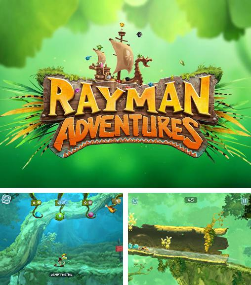 In addition to the game Rayman Jungle Run for Android phones and tablets, you can also download Rayman adventures for free.