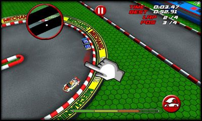 Screenshots von RC Mini Racing für Android-Tablet, Smartphone.