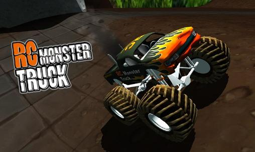 RC monster truck poster