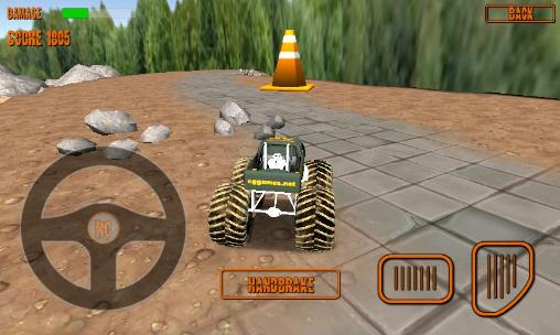RC monster truck screenshot 4
