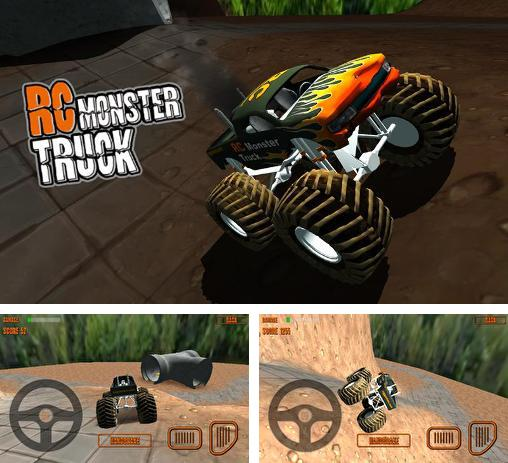 In addition to the game RC Mini Racers for Android phones and tablets, you can also download RC monster truck for free.