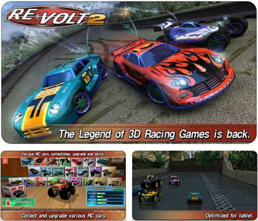 In addition to the game RC Mini Racers for Android phones and tablets, you can also download Re-volt 2: Best RC 3D racing for free.