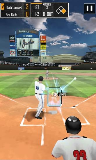 Screenshots von Real baseball für Android-Tablet, Smartphone.