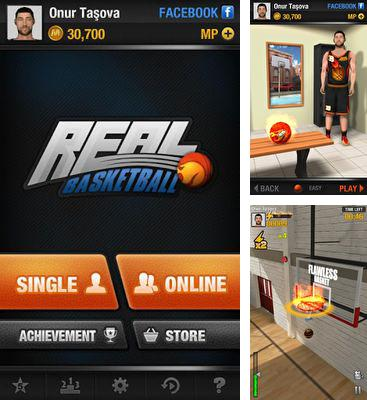 In addition to the game Jam city for Android phones and tablets, you can also download Real Basketball for free.
