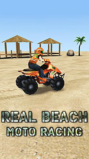 Real beach moto racing