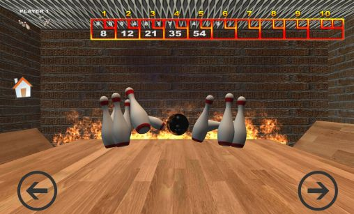 Screenshots von Real bowling 3D für Android-Tablet, Smartphone.