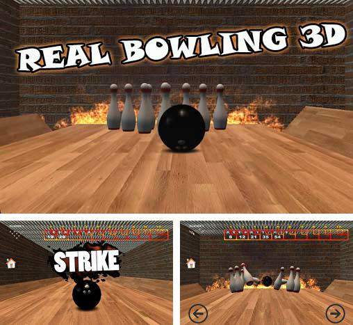 In addition to the game PBA Bowling Challenge for Android phones and tablets, you can also download Real bowling 3D for free.