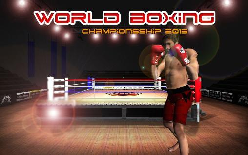 Real boxing champions: World boxing championship 2015
