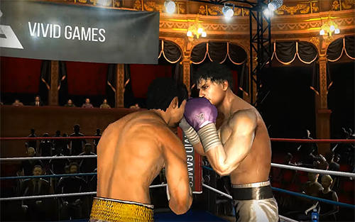 Kostenloses Android-Game Real Boxing: Manny Pacquiao. Vollversion der Android-apk-App Hirschjäger: Die Real boxing Manny Pacquiao für Tablets und Telefone.
