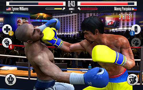 Screenshots von Real boxing Manny Pacquiao für Android-Tablet, Smartphone.