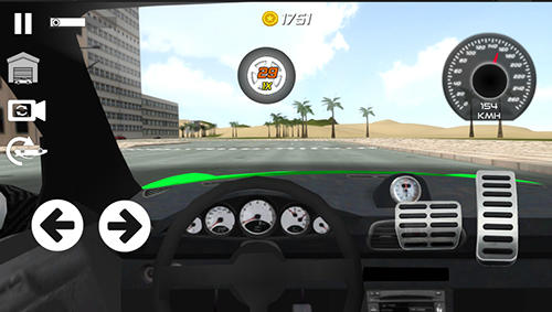 Screenshots von Real car drifting simulator für Android-Tablet, Smartphone.