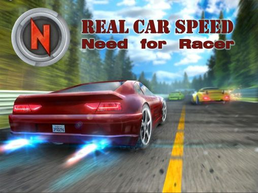 Real car speed: Need for racer poster