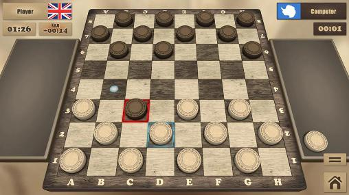Download Real checkers Android free game.