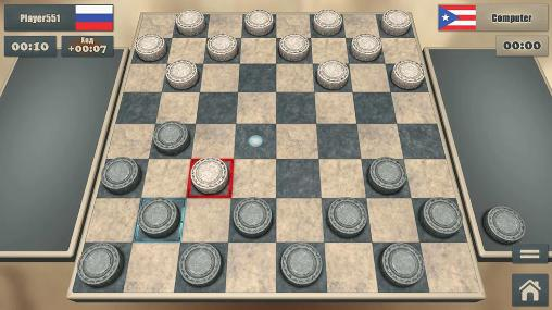 Get full version of Android apk app Real checkers for tablet and phone.