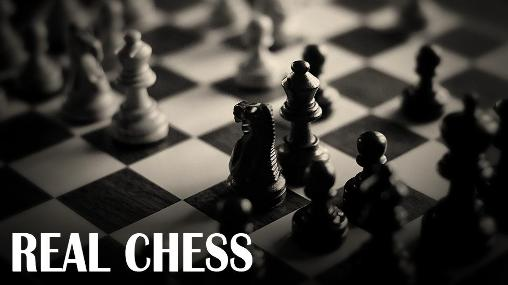 Real chess poster