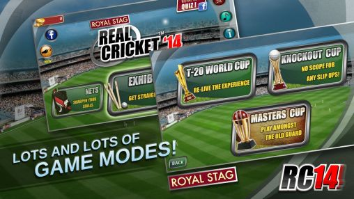 Real cricket '14 screenshot 1
