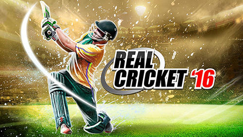 Real cricket 16 poster
