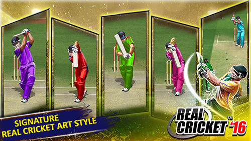 Juega a Real cricket 16 para Android. Descarga gratuita del juego Cricket real 16.