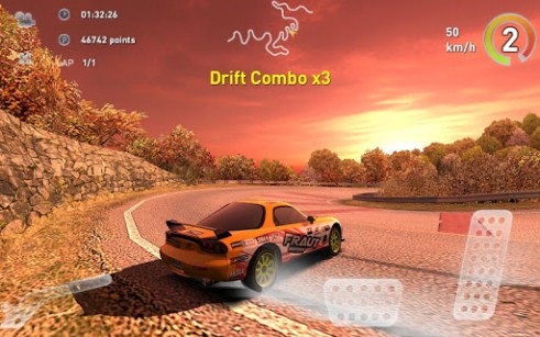 Capturas de pantalla de Real drift car racing v3.6 para tabletas y teléfonos Android.