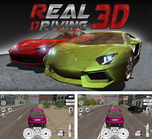 In addition to the game Duty Driver for Android phones and tablets, you can also download Real driving 3D for free.