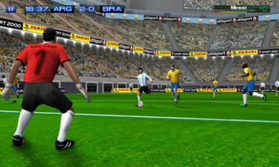 Download Real Football 2011 Android free game.