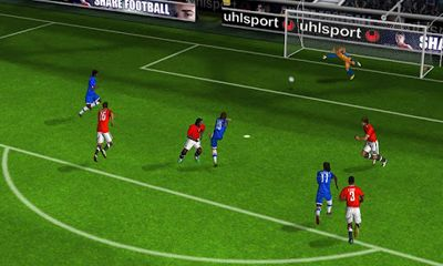Screenshots von Real Football 2012 für Android-Tablet, Smartphone.