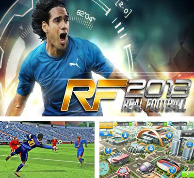 In addition to the game Real Football 2011 for Android phones and tablets, you can also download Real Football 2013 for free.
