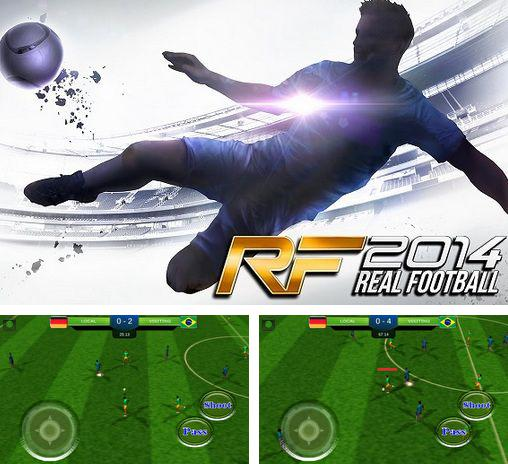 Real football 2014 Brazil game
