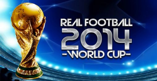 Real football 2014: World cup poster