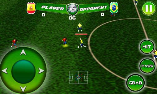 Screenshots von Real football tournament game für Android-Tablet, Smartphone.