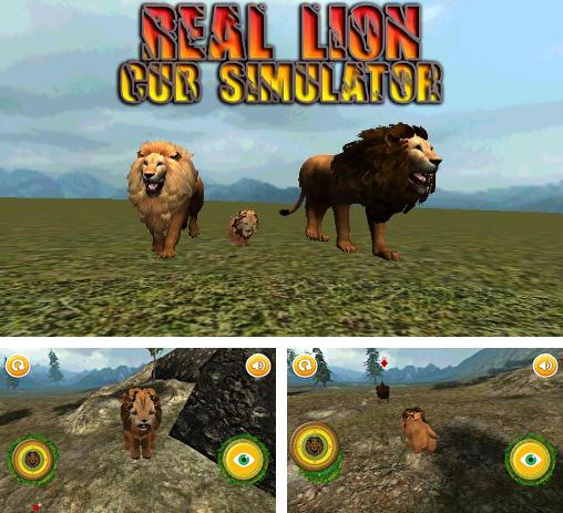 Real lion cub simulator