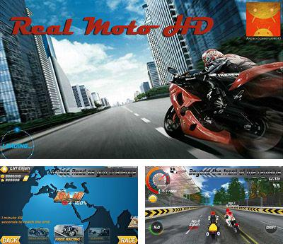 In addition to the game Racing Glider for Android phones and tablets, you can also download Real Moto HD for free.