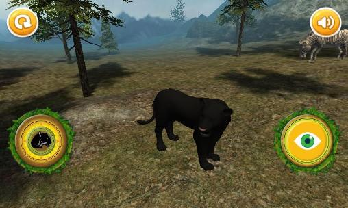 玩安卓版Real panther simulator。免费下载游戏。
