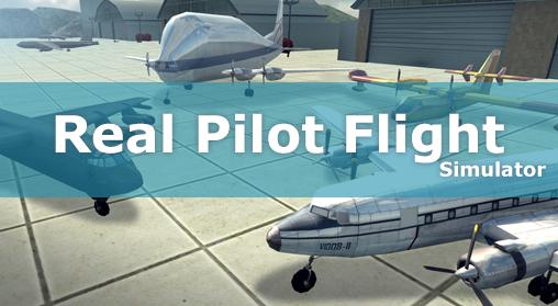 Real pilot flight simulator 3D обложка