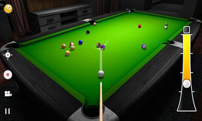 Screenshots of the Real Pool 3D for Android tablet, phone.