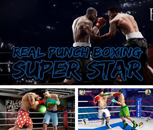 Real punch boxing super star: World fighting hero