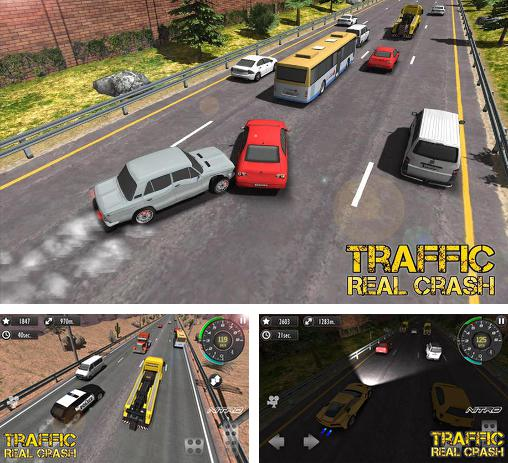 Real racer crash traffic 3D