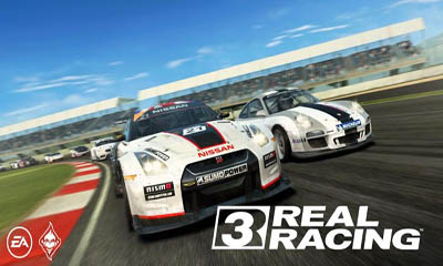 Real racing 3 poster