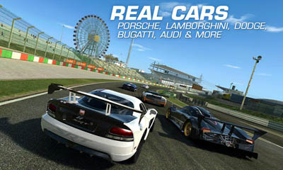 Screenshots do Real racing 3 - Perigoso para tablet e celular Android.